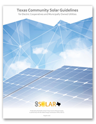 Download the Texas Community Solar Guidelines