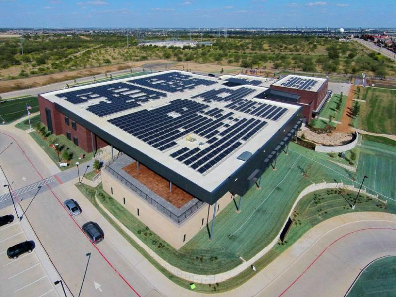 Coppell Independent School District Solar Panels