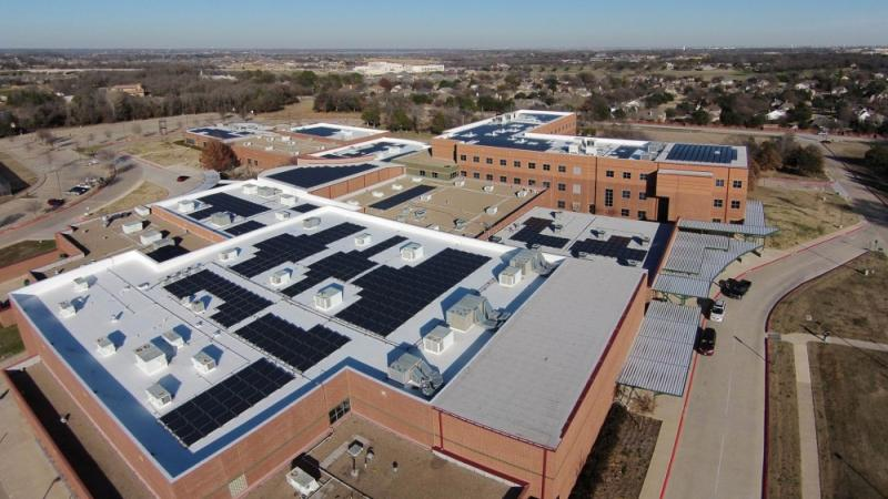 Carroll Independent School District Solar Panels